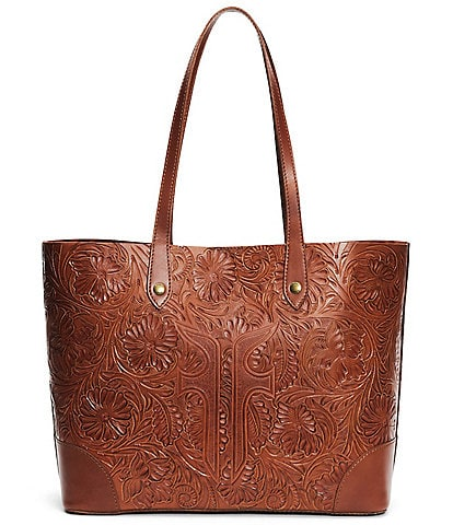 Frye Melissa Artisan Leather Shopper Tote Bag