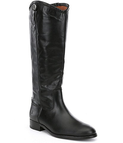 Frye Melissa Button 2 Tall Block Heel Riding Boots