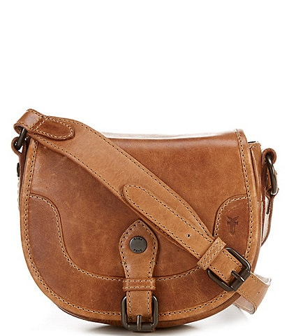Frye Melissa Button Saddle Bag