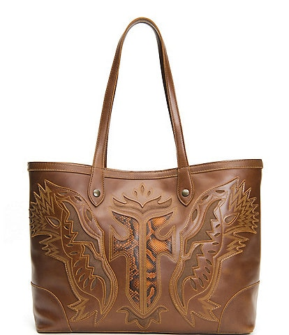 Frye Melissa Firebird Shopper Tote Bag