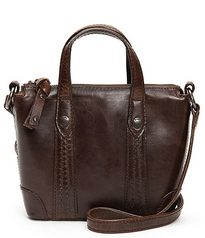 Frye Melissa Mini Top Handle Italian Leather Crossbody Bag