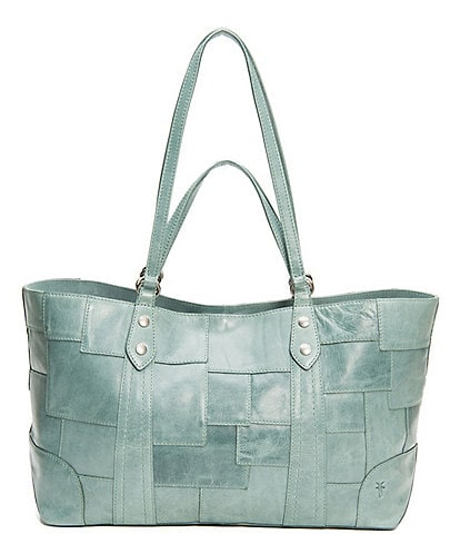 Frye Melissa Patchwork Leather Multi-Handle Tote Bag