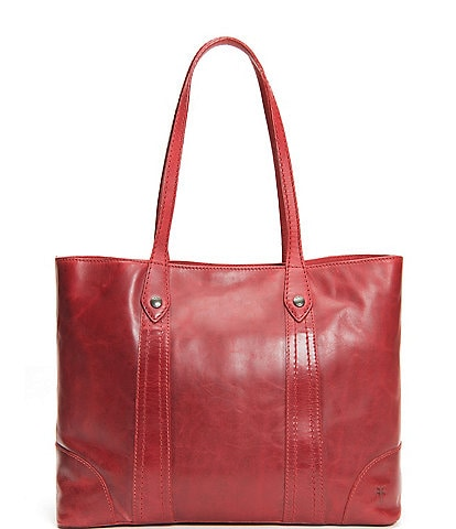 Frye Melissa Washed Leather Shopper Tote Bag