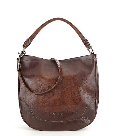 3193fdef9383 Frye Melissa Washed Leather Hobo Bag