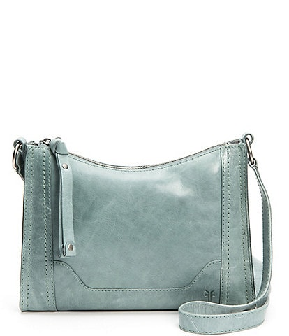 Frye Melissa Zip Leather Crossbody Bag