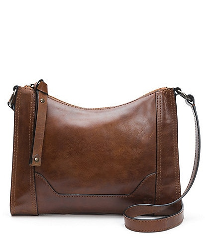 Frye Melissa Zip Leather Crossbody