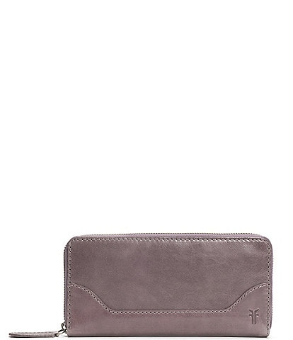 Frye Melissa Leather Zip Wallet