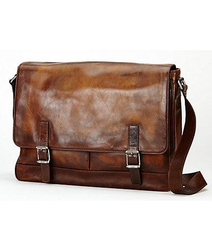 Frye Oliver Distressed Messenger Bag
