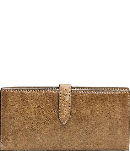 Frye Reed Slim Leather Snap Wallet