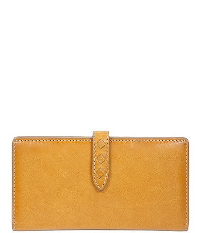 Frye Reed Slim Leather Snap Wallet