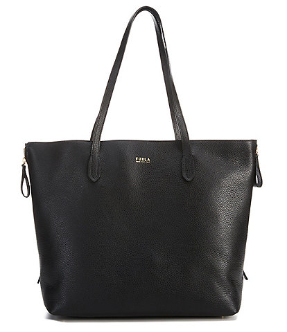 Furla Luce Large Colorblock Leather Side Zip Tote Bag