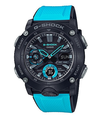 G-Shock Ana Digi Black and Blue Shock Resistant Watch