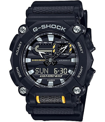 G-Shock Ana Digi Black Resin Shock Resistant Watch
