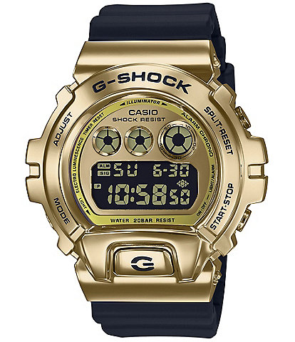 G-Shock Ana-Digi Black and Gold Resin Watch