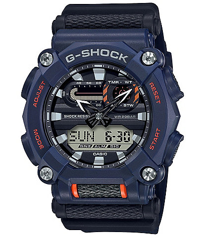 G-Shock Ana Digi Blue Resin Shock Resistant Watch