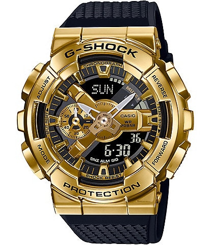 G-Shock Ana Digi Gold Metal Shock Resistant Watch