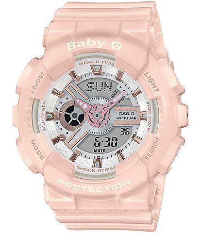 G-Shock Ana Digi Pink & Gold Shock Resistant Watch