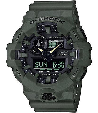 G-Shock Green Ana-Digi Resin-Strap Watch