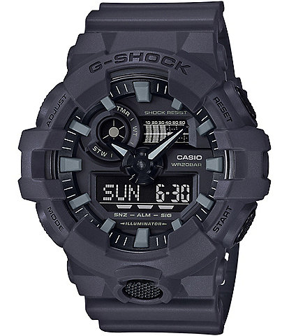 G-Shock Ana-Digi Resn-Strap Watch