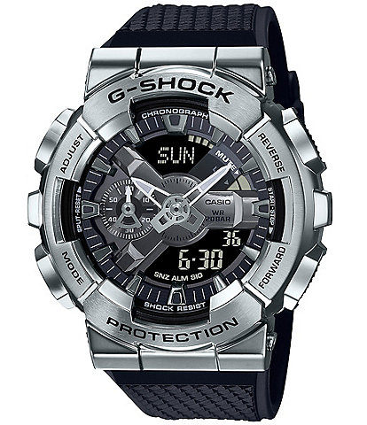 G-Shock Ana Digi Silver Metal Shock Resistant Watch