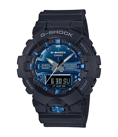 G-Shock Black Blue Ana-Digi Watch