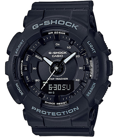 G-Shock Ana/Digi Resin-Strap Step-Tracker Watch