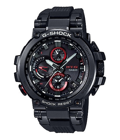G-Shock Analog Black and Red Shock Resistant Watch