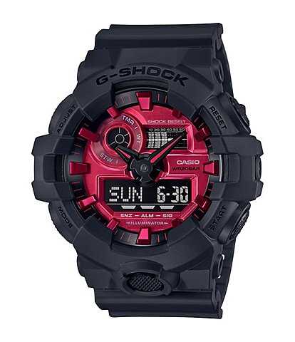 G-Shock Analog-Digital Black Shock Resistant Resin Watch