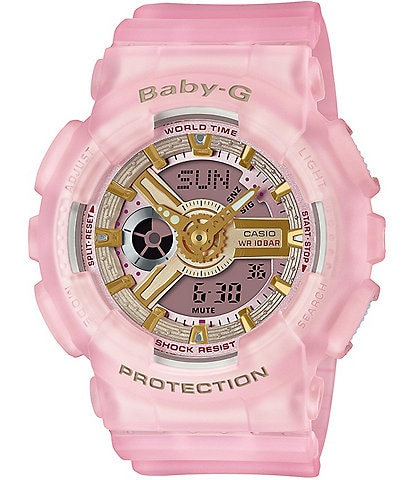 G-Shock Baby G Ana Digi Pink Skeleton Shock Resistant Watch