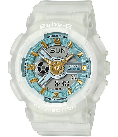 G-Shock Baby G Ana Digi White Skeleton Shock Resistant Watch