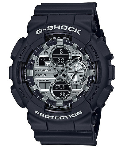 G-Shock Black Ana-Digi Resin Watch