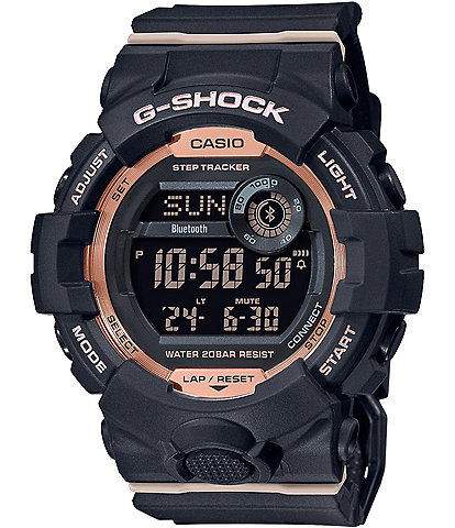 G-Shock Black and Rose Gold Digital Shock Resistant Watch