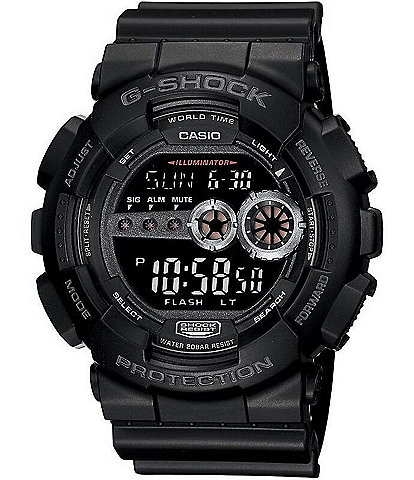 G-Shock Black XL Resin Digital Watch