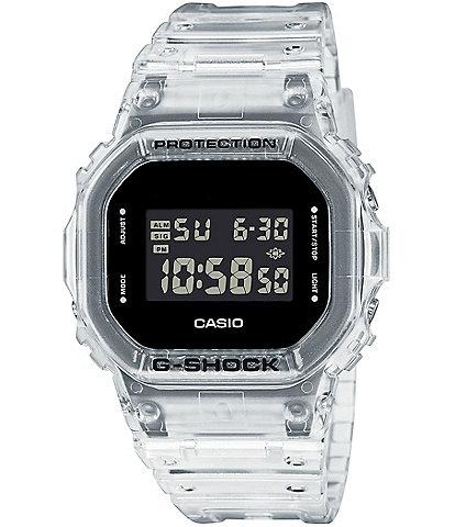 G-Shock Clear Skelton Digital Shock Resistant Watch