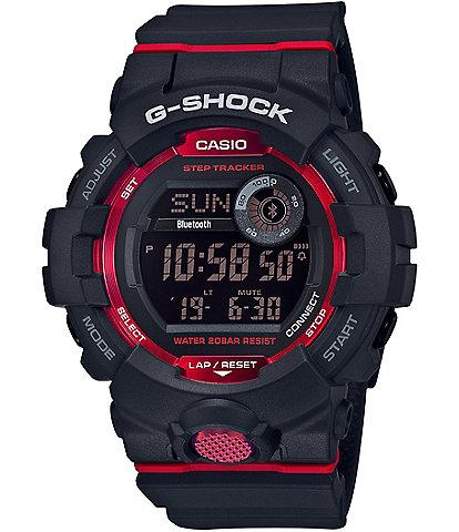 G-Shock Digital Black & Red Shock Resistant Watch