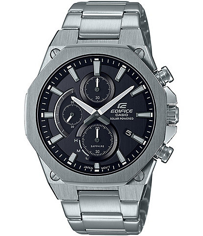 G-Shock Edifice Analog Silver Stainless Steel Watch