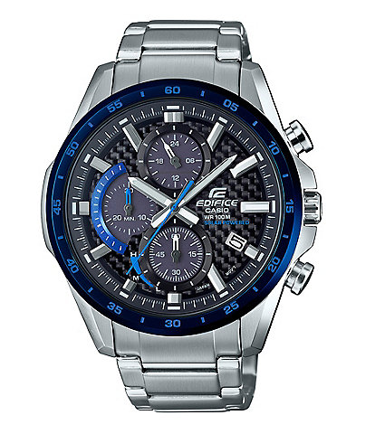 G-Shock Blue Edifice Solar Chronograph Watch
