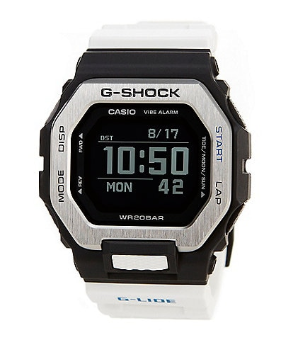 G-Shock G-Lide White Resin Surf Watch