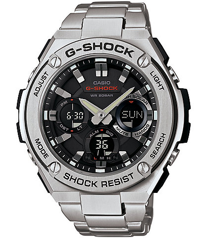 29c71db2f524 G-Shock G-STEEL Ana Digi Stainless Steel Watch