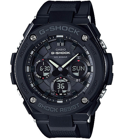 08da55f35607 G-Shock G-Steel Solar-Powered Resin-Strap Ana-Digi Watch