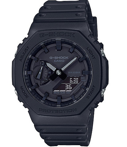 G-Shock GA2100-1A1 Anna Digi Black Shock Resistant Watch