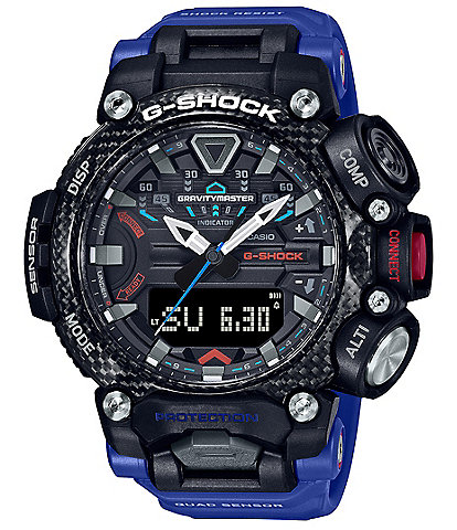 G-Shock Master of G Carbon Core Blue Resin Watch