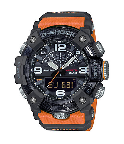 G-Shock Mudmaster Orange Ana-Digi Watch