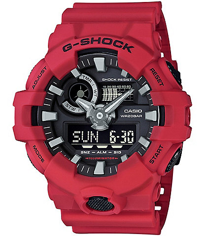 G-Shock Resin-Band Ana-Digi Watch