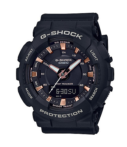 G-Shock S-Series Ana Digi Black Shock Resistant Watch