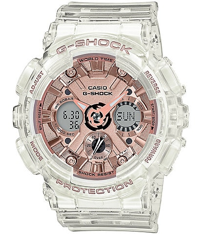 G-shock S-Series Ana Digi Clear Shock Resistant Watch