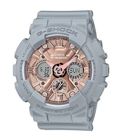 G-Shock S-series Ana Digi Grey Shock Resistant Watch