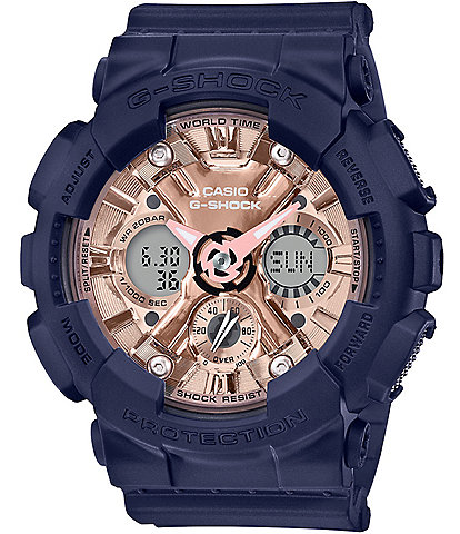 G-Shock S-series Ana Digi Navy Shock Resistant Watch