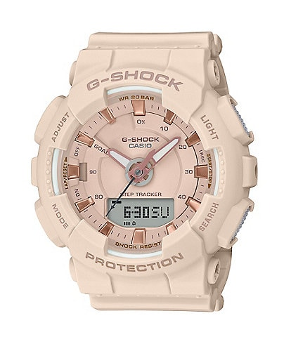 G-Shock S-Series Ana Digi Pink Shock Resistant Watch