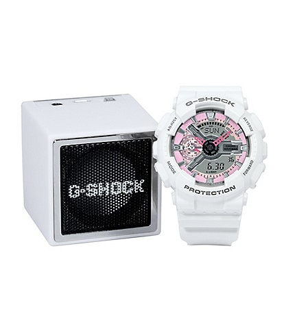 G-Shock S-Series Ana/Digi Watch & Bluetooth Speaker Gift Set